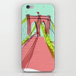 New York sketch /2 iPhone Skin