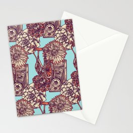 Vintage Product Pattern Stationery Cards