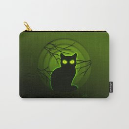 Halloween Cat Carry-All Pouch