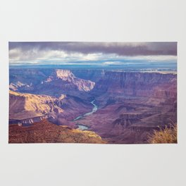 Grand Canyon and the Colorado River Rug