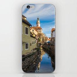 cesky krumlov, czech republic iPhone Skin