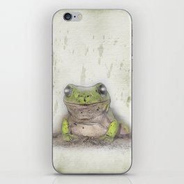 Jeremiah was a bullfrog iPhone Skin