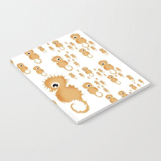 Sea horses Pattern Notebook
