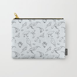 Origami Natives Lineart Carry-All Pouch
