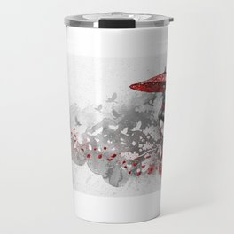 Falling blossoms Travel Mug