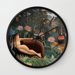 Henri Rousseau - The Dream Wall Clock