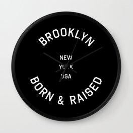 Brooklyn - NY, USA (Badge) Wall Clock
