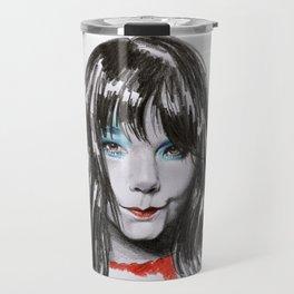Bjork Portrait Travel Mug