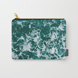 Sea Green Love Carry-All Pouch