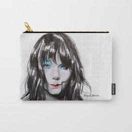 Bjork Portrait Carry-All Pouch