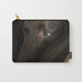 My Friend Chocolate Lab Carry-All Pouch