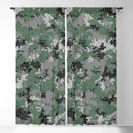 Computer Circuit Camo URBAN GAMER Blackout Curtain