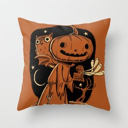 Hallowe'en Box Throw Pillow