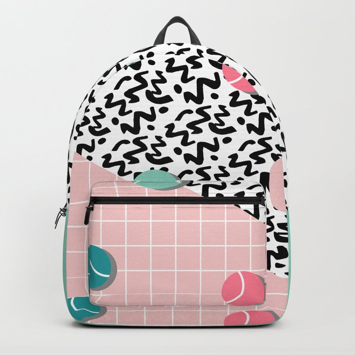 Tennis Pattern #society6 #decor #buyart Backpack