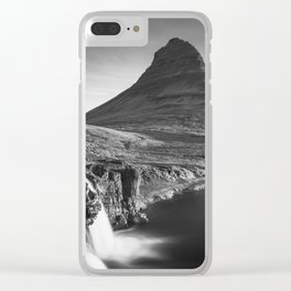 Classic Iceland Clear iPhone Case