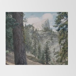 Half Dome Throw Blanket