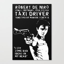 Taxi Driver - Travis Says Canvas Print