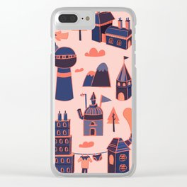 A Little Town Clear iPhone Case