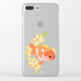 Ranchu and Adonis Clear iPhone Case