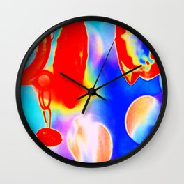 Chandelier Psychedelic Wall Clock