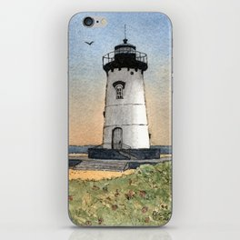 Edgartown Lighthouse iPhone Skin