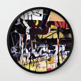 Abstract 50 #4 Wall Clock