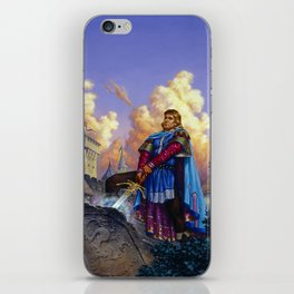 King Arthur iPhone Skin