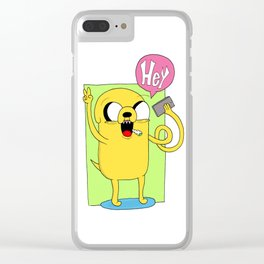 Jake - Hey Clear iPhone Case