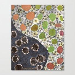 Playful Yin and Yang Pattern Canvas Print