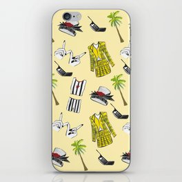 Clueless Pattern iPhone Skin