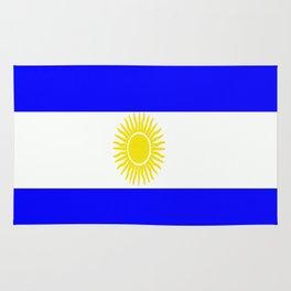 Flag of Argentina Rug
