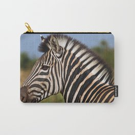 Zebra - Africa wildlife Carry-All Pouch