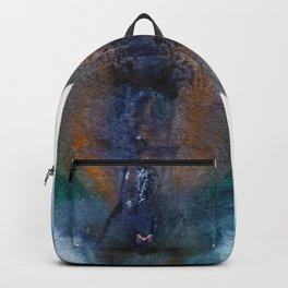 Isabella's Golden Flower Backpack