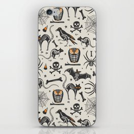 Halloween X-Ray iPhone Skin