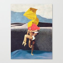 The Lovers vs the Elements - PAINTING Canvas Print