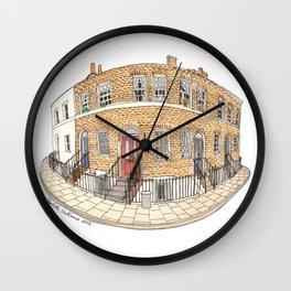 London by Charlotte Vallance Wall Clock