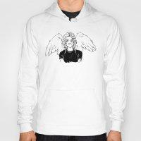angel wings Hoodies featuring Wings by kendrawcandraw