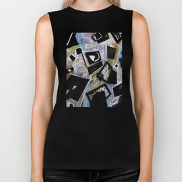 Edgy Moments to the Heart Biker Tank