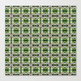 Western Trillium Flower patterned Canvas Print