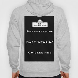 Breastfeeding, baby wearing and co-sleeping Hoody