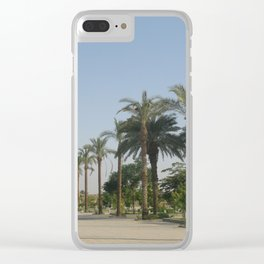 Temple of Karnak at Egypt, no. 3 Clear iPhone Case