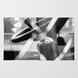Shatterproof Dreams (JCB Cab Bokeh) Rug