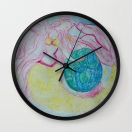 MERMAID OF BALANCE Wall Clock