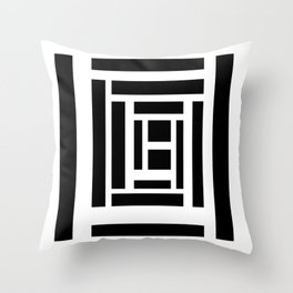 Lines 04 Throw Pillow
