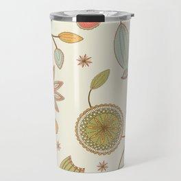 Mehndi Flower Travel Mug