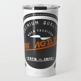 Art Agility Premium Quality Vintage Design Travel Mug