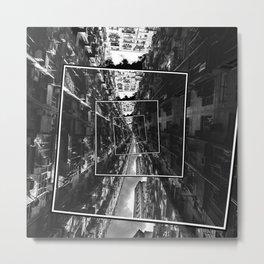 Spinning City Metal Print