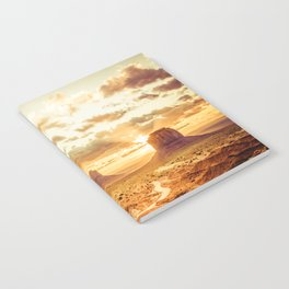 Monument Valley Sunrise Notebook