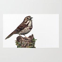 Song Sparrow Rug