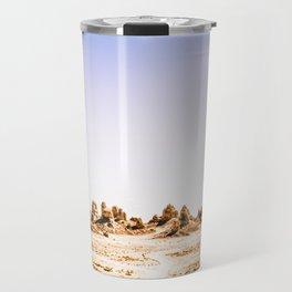 Mystery Planet - Trona Pinnacles Tufa Spires Travel Mug